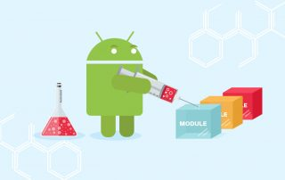 dependency injection modularized android application